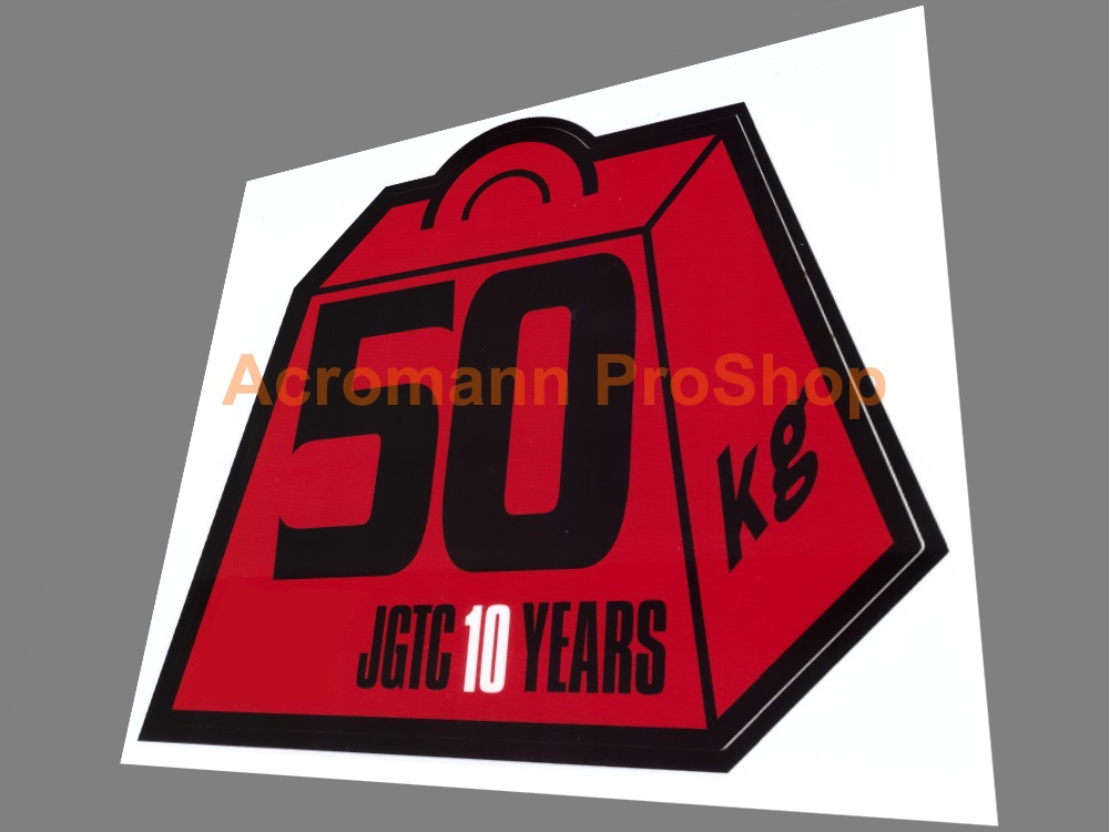 Super GT (JGTC) Iron Weight Penalty 3inch Decal (Style#2) x 2 pc